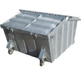 Rolcontainer huren 5000 liter papier en karton