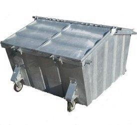Rolcontainer huren 5000 liter groen afval