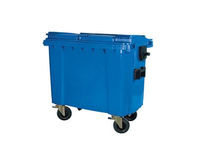 Rolcontainer huren 660 liter groen afval