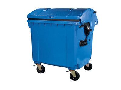 Rolcontainer huren 1100 liter bedrijfsafval